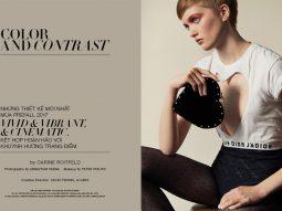 Bộ ảnh Color & Contrast kết hợp giữa trang điểm và thời trang