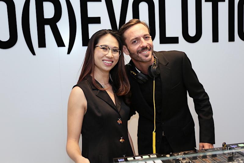 Chị Phạm Ngọc Lưu Uyên – Trưởng ban biên tập tạp chí Harper's Bazaar Việt Nam và DJ