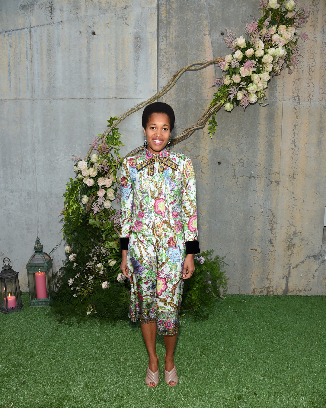 NEW YORK, NY - MAY 02: Tamu McPherson attends the Gucci Bloom Fragrance Launch at MoMA PS.1 on May 2, 2017 in New York City. (Photo by Jamie McCarthy/Getty Images for Gucci)