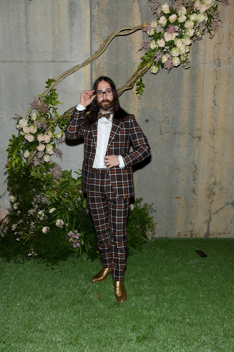 NEW YORK, NY - MAY 02: Singer Sean Lennon attends the Gucci Bloom Fragrance Launch at MoMA PS.1 on May 2, 2017 in New York City. (Photo by Jamie McCarthy/Getty Images for Gucci)