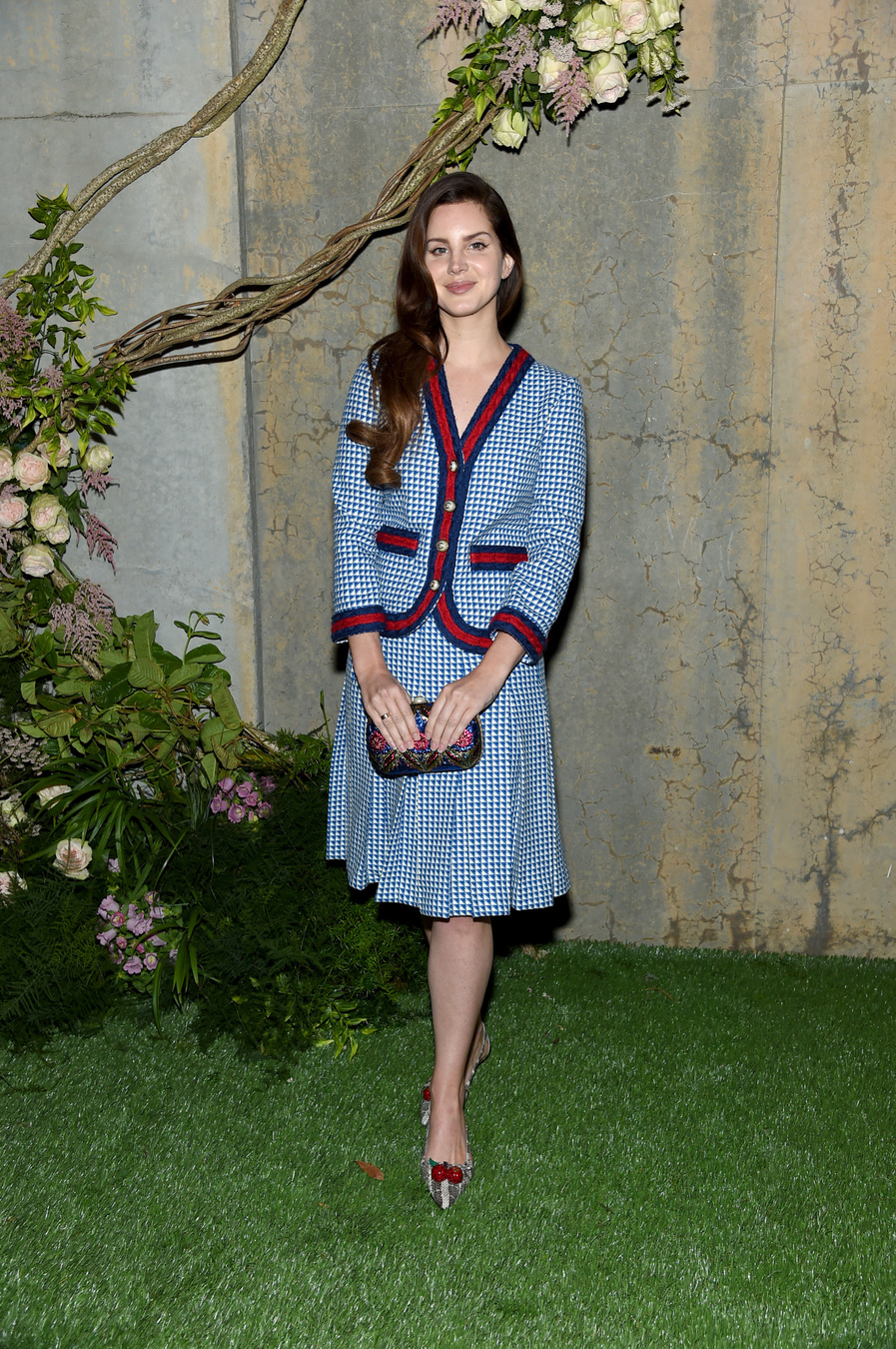 NEW YORK, NY - MAY 02: Singer Lana Del Ray attends the Gucci Bloom Fragrance Launch at MoMA PS.1 on May 2, 2017 in New York City. (Photo by Jamie McCarthy/Getty Images for Gucci)
