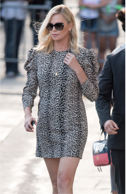 Charlize Theron in Saint Laurent