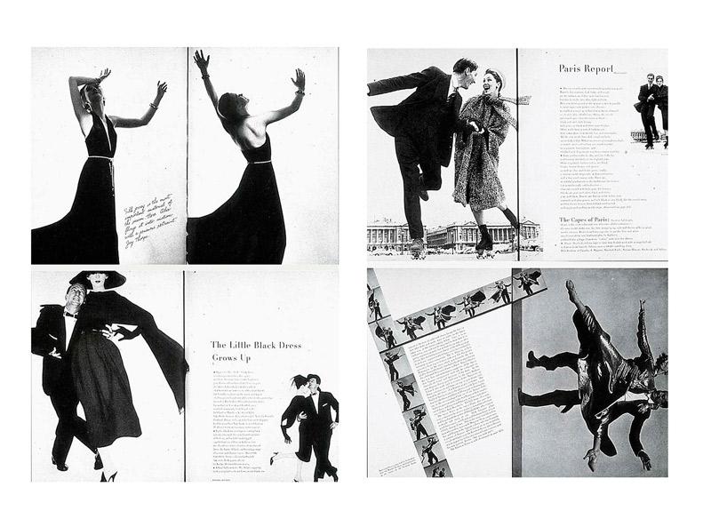 Alexey Brodovitch thay đổi các trang báo của Harper's Bazaar sang phong cách hiện đại