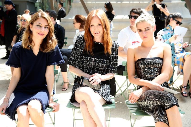 Từ trái sang: nữ đạo diễn Sofia Coppola, Julianne Moore và Kristen Stewart