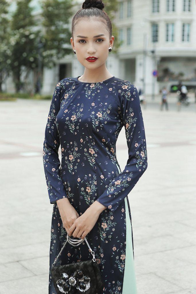 Áo dài của Tú Ngô & Nguyễn Minh Phúc