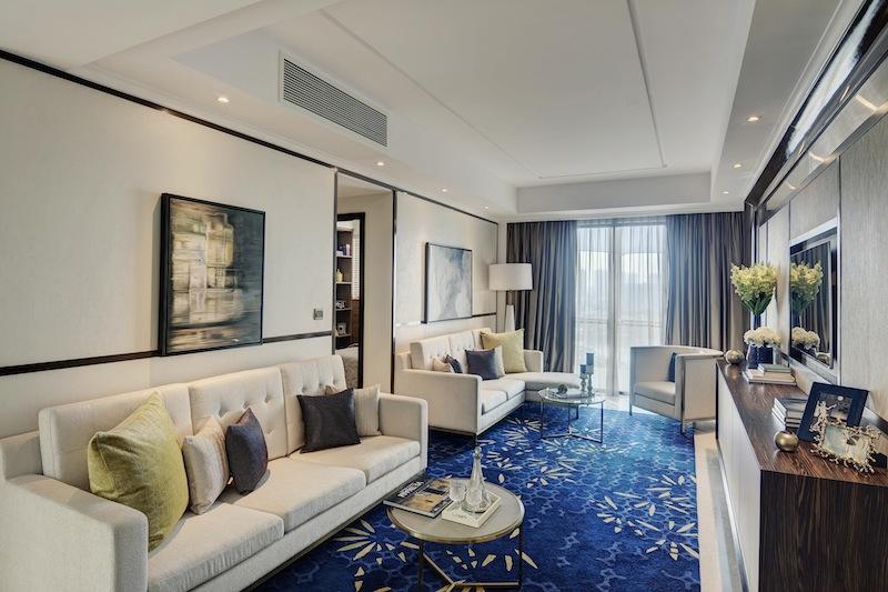 Phòng khách với nội thất cao cấp