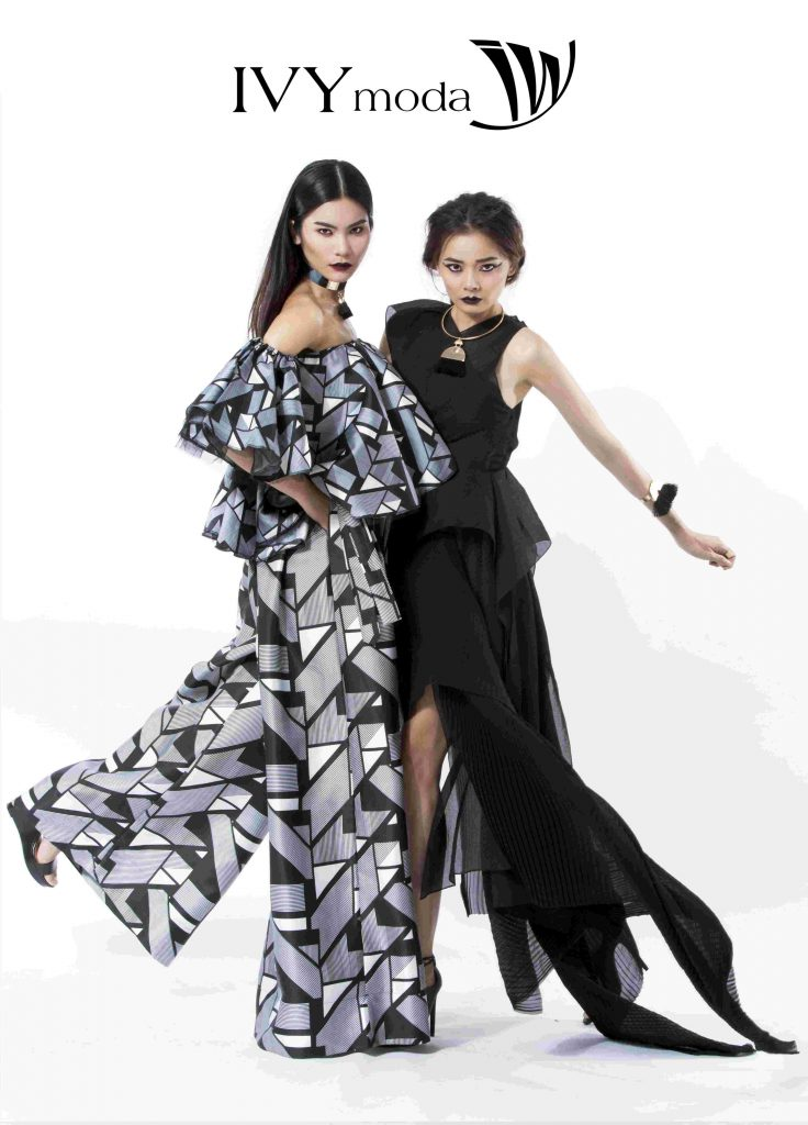 Kim Dung và Hoàng Oanh hóa thân thành hai cô nàng gothic ấn tượng
