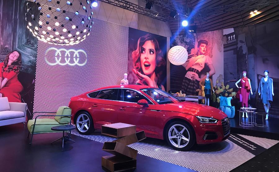 Thương hiệu xe hơi Audi tại EuroSphere 2017