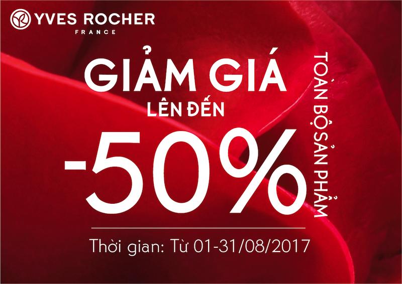 Summer Sale: Yves Rocher khuyen mai len den 50% hinh anh 1