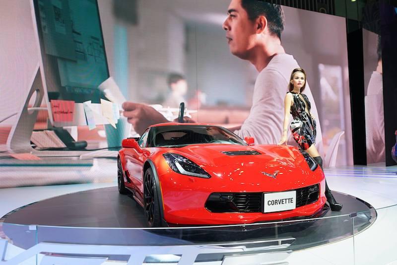 Xe thể thao Corvette Grand Sport của Chevrolet