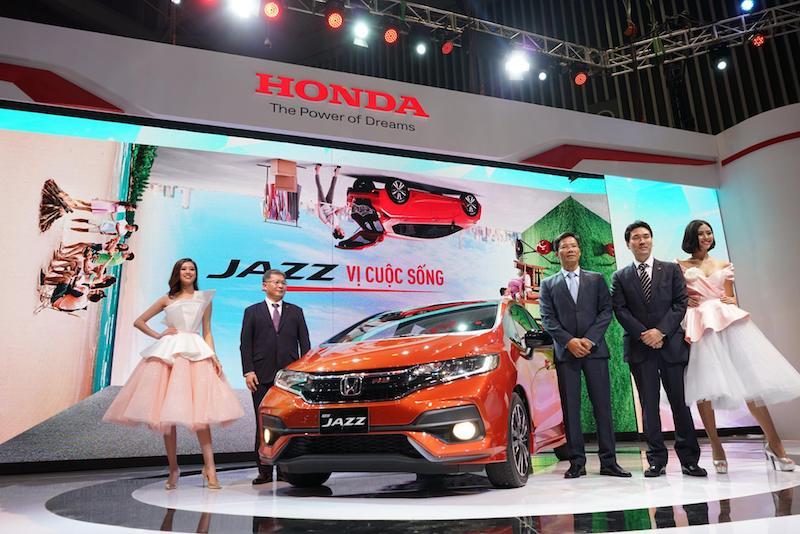Honda giới thiệu mẫu xe Jazz nhỏ xinh