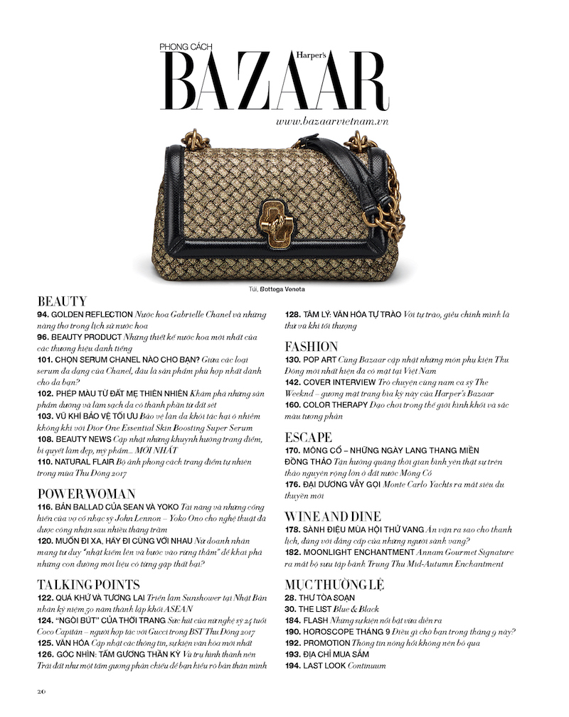 harpers bazaar viet nam so thang 9 2017 hinh 2