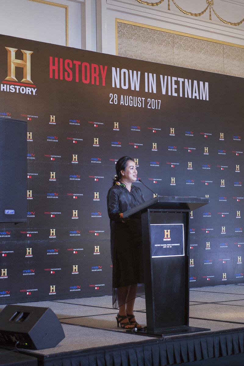 ra mat kenh truyen hình History™ tai Viet Nam 03