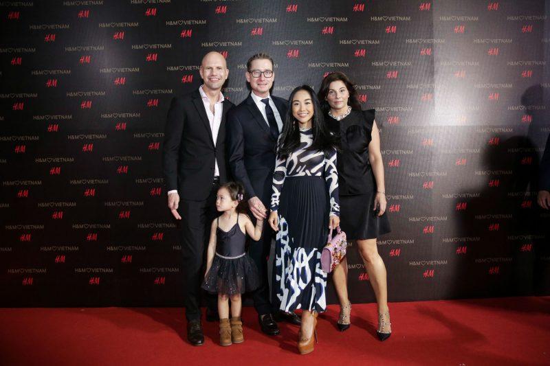 Gia đình ca sĩ Đoan Trang.