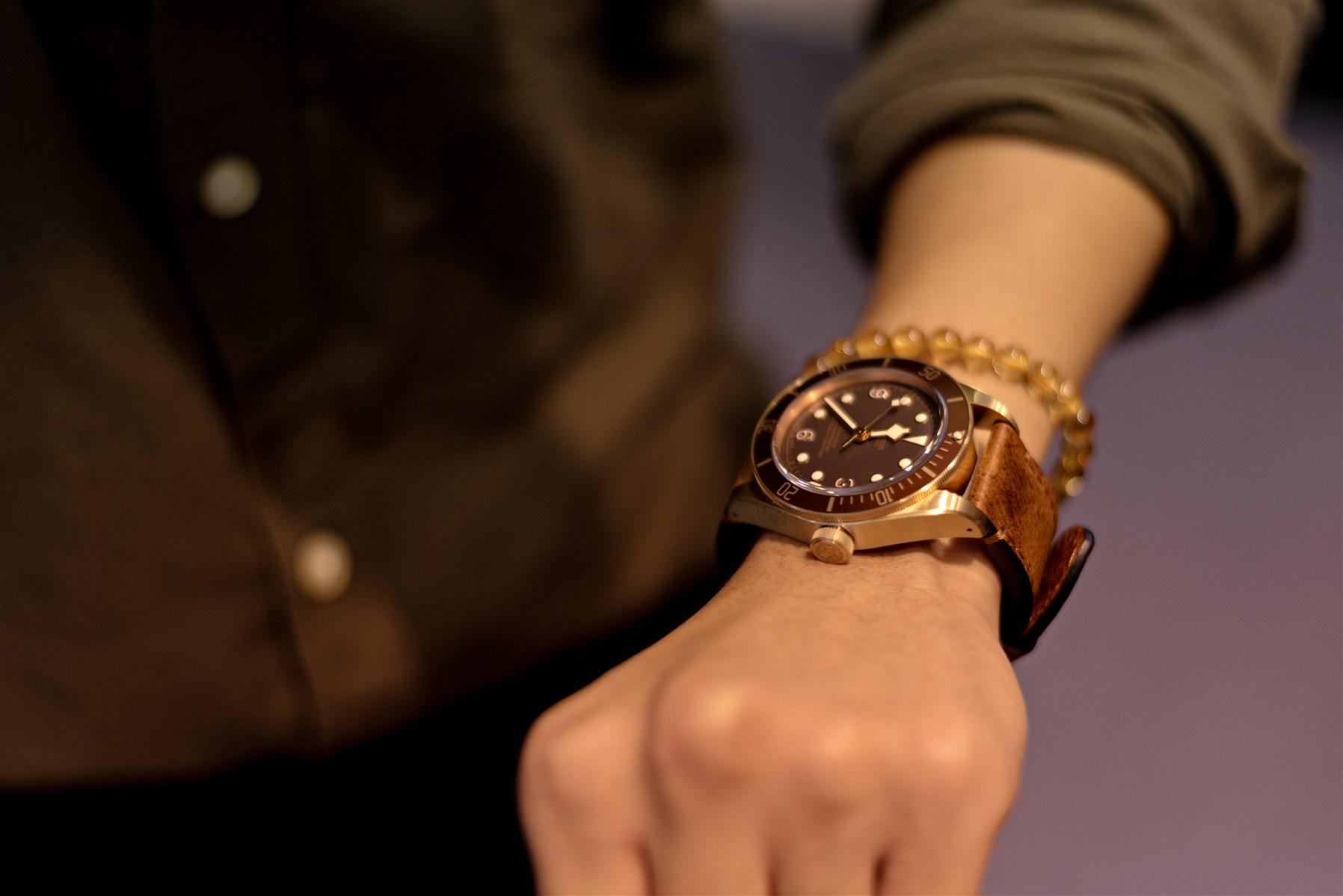 Cận cảnh đồng hồ Tudor mà Gil Lê yêu thích.