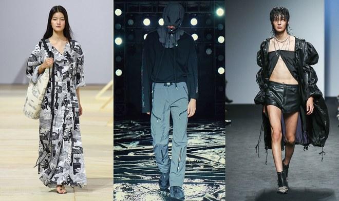 Từ trái qua: Low Classic; 99%IS-; và Blindness Xuân 2018. Ảnh: HERA Seoul Fashion Week