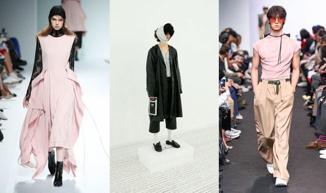 Từ trái qua: J Koo; 87MM Seoul; và Münn Xuân 2018. Ảnh: HERA Seoul Fashion Week