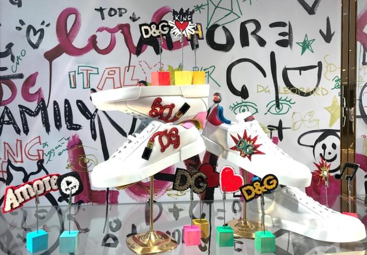 20171030 snearker pop up store của Dolce & Gabbana 03