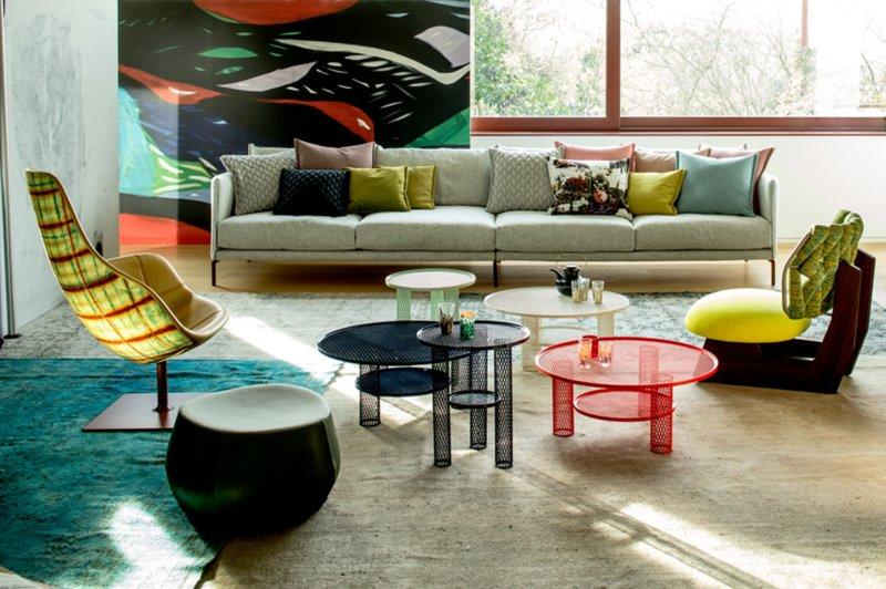 Thương hiệu nội thất Ý Moroso được đánh giá là có thiết kế táo bạo và cấp tiến