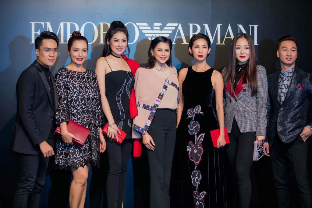 20171030 quý ông showbiz Việt chúc mừng doanh nhân Thuỷ Tiên 07