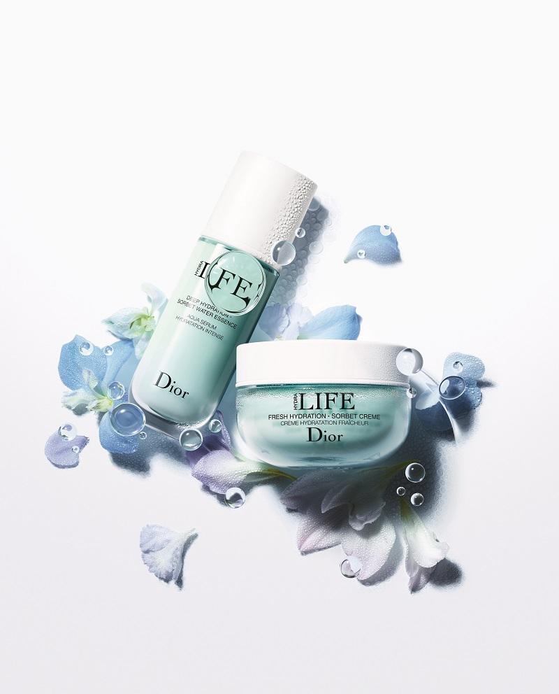 Bộ sản phẩm dưỡng ẩm kép của Dior Hydra Life