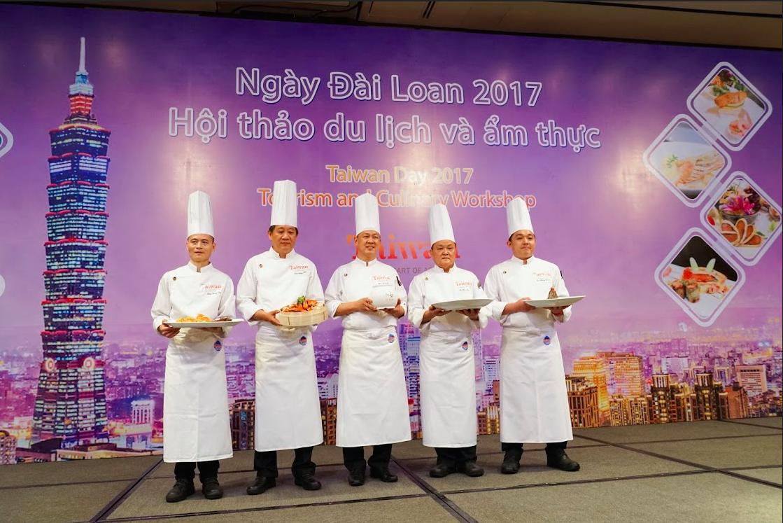 5 đầu bếp nổi tiếng của Đài Loan mang đến chương trình những món ăn đặc sắc