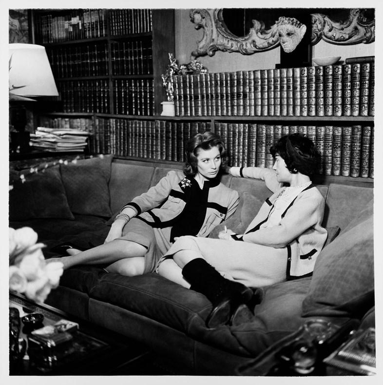 Coco Chanel và Marie-Hélène Arnaud