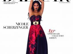 Nicole Scherzinger mang vẻ đẹp couture lên trang bìa 150 năm Harper's Bazaar