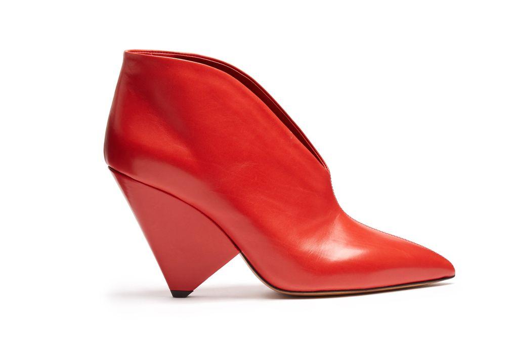 Ankle Boots có cấu trúc đặc biệt của Isabel Marant