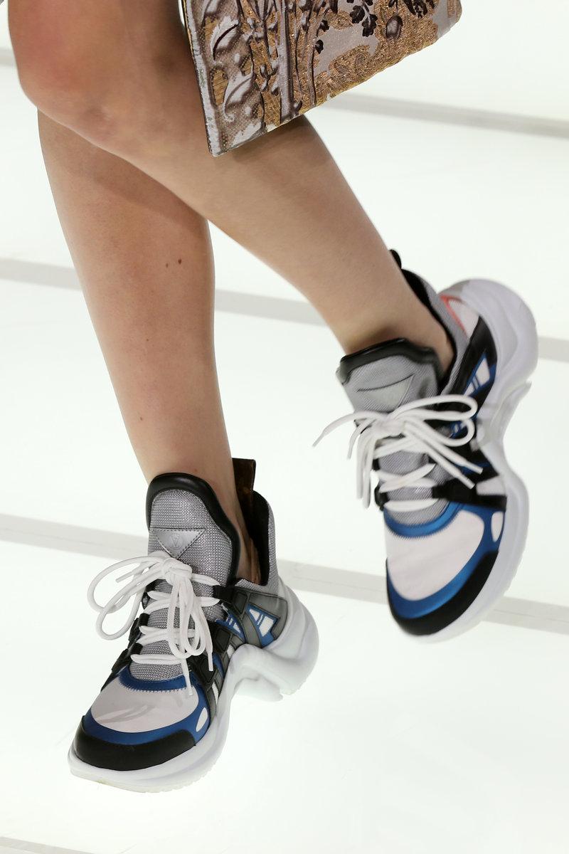Sneakers Archlight trên sàn diễn Louis Vuitton Xuân Hè 2018