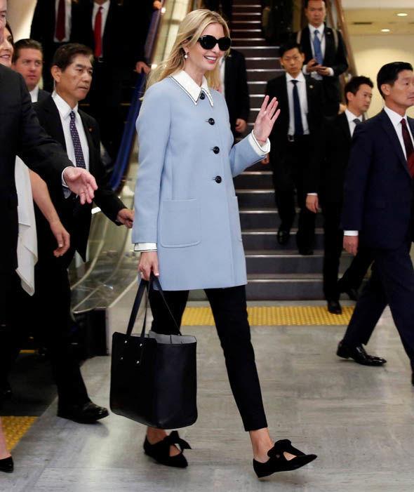 Hình ảnh trang trọng đậm chất chính trị gia của ái nữ gia đình Tổng thống Mỹ.