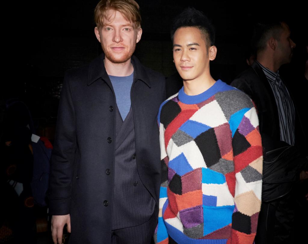 Domhnall Gleeson và Mason Lee