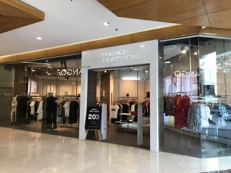 Hình ảnh cửa hàng thuộc thương hiệu FCUK Vincom Bà Triệu