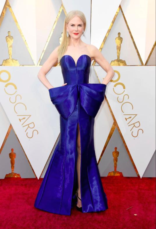Nicole Kidman tham dự lễ trao giải Oscar lần thứ 90 tại Hollywood & Highland Center ngày 4/3/2018.