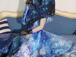 Á hậu Ngọc Quỳnh trong thiết kế của Valentines Van Nguyen