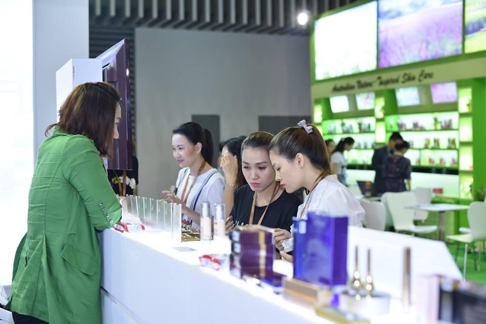 20180329 triển lãm Cosmobeauté Vietnam 2018 06