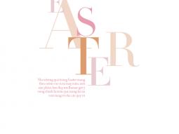 Easter – Bộ ảnh beauty lấy cảm hứng từ lễ Phục Sinh