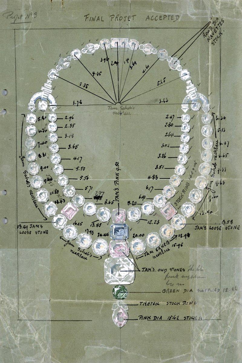 Thiết kế nguyên bản của vòng Toussaint.