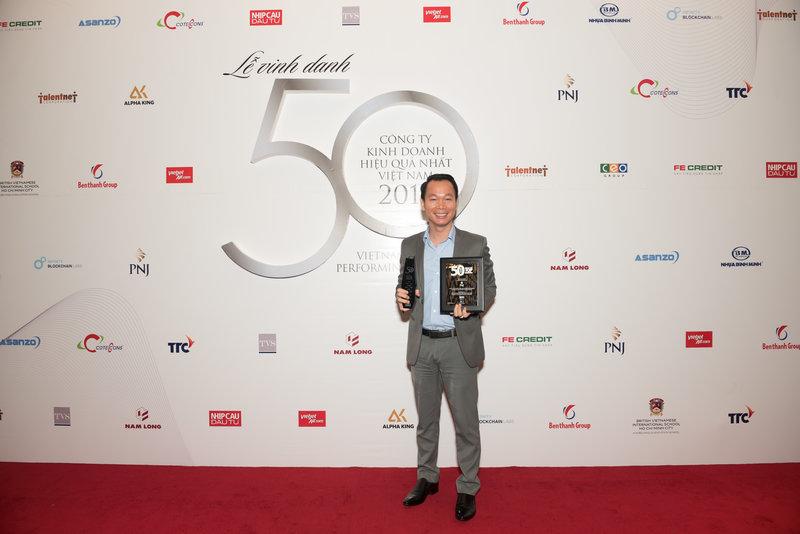 Cũng tại buổi lễ, PNJ được vinh danh trong top 16 doanh nghiệp tỷ đô.