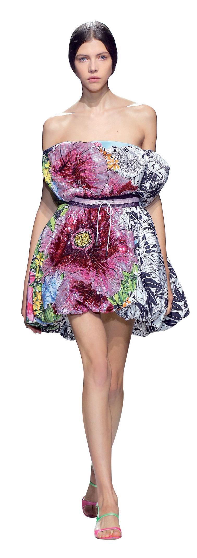Các thiết kế thuộc bộ sưu tập Xuân Hè 2018 của Mary Katrantzou