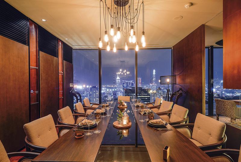 Không gian phòng ăn VIP