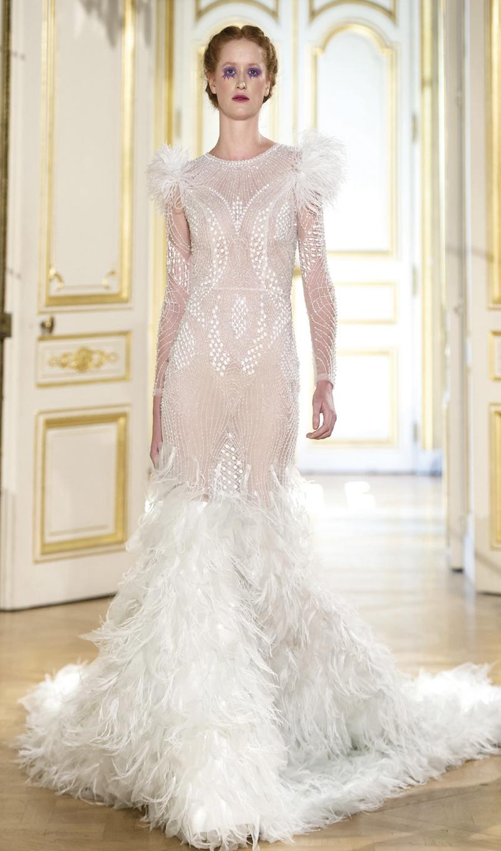 Thiết kế được bình chọn Top 50 áo cưới nổi bật tại Paris Fashion Week 2018