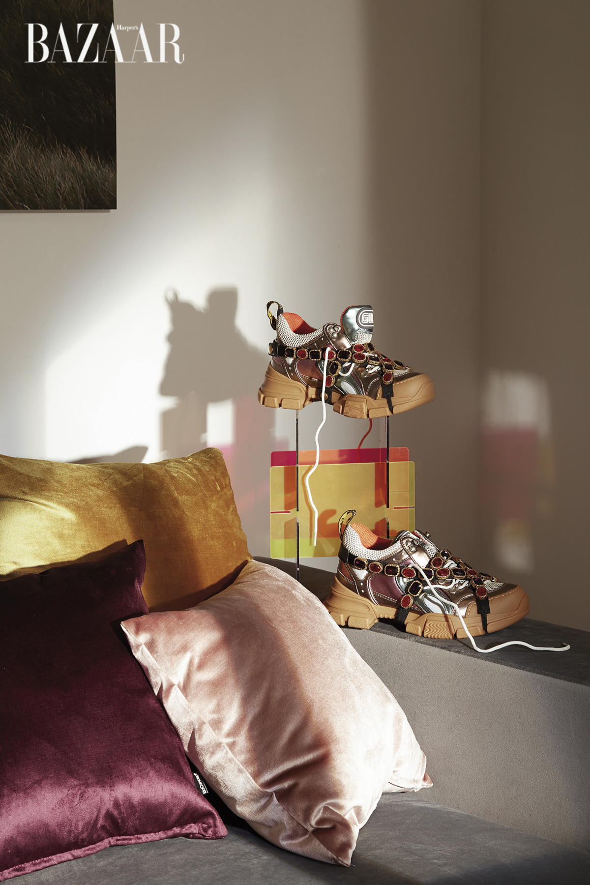 Giày sneaker Flashtrek, Gucci