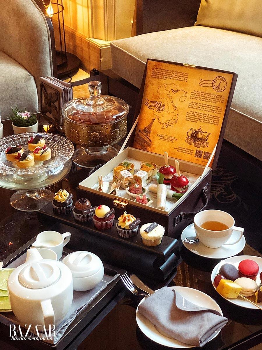 Bữa tiệc Trà Chiều Paris tại Cafe des Beaux Arts là nơi lý tưởng để thư giãn trong ngày 8-3