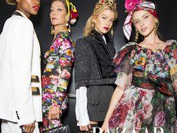 Mê mẩn với 'bức họa' Xuân Hè 2019 đến từ thương hiệu Dolce & Gabbana