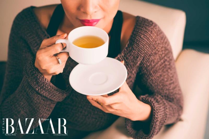 Trà đen hoặc trà xanh gây mất ngủ