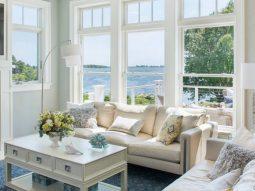 Mang gió biển vào nhà với phong cách ven biển Coastal Style