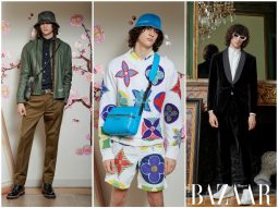 Louis Vuitton Men Pre-Fall/Thu Đông 2020: Sự tương phản giữa hình học và họa tiết rằn ri