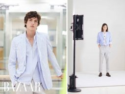 Hermès Men Xuân Hè 2021 tôn vinh sự tối giản của những chiếc áo sơ-mi nam