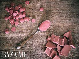 Bạn đã biết về Ruby Chocolate, loại sôcôla hồng tự nhiên?